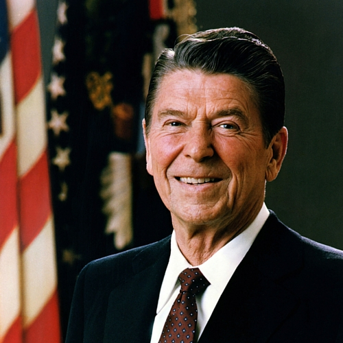 Lefthanders Legacy, Ronald Reagan