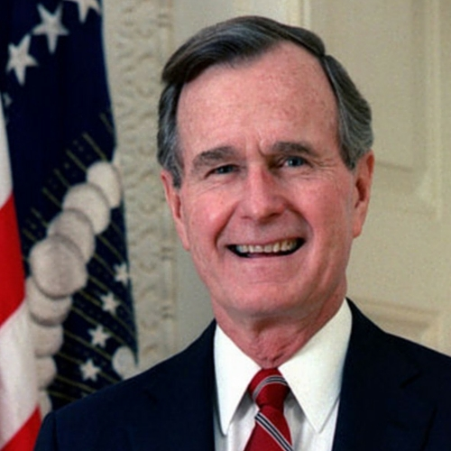 Lefthanders Legacy, George Herbert Walker Bush